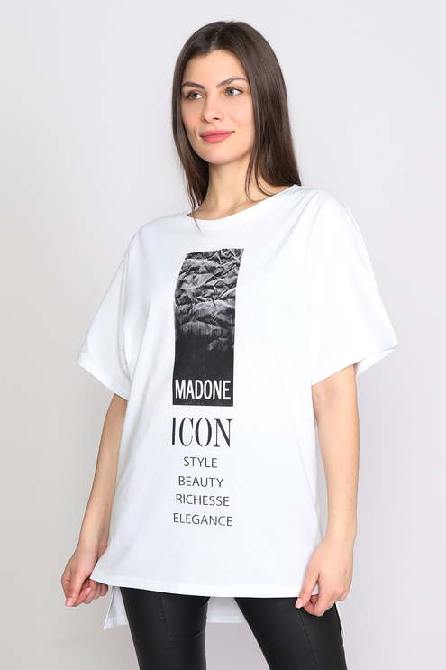 "Футболка ""Мадонна"", белый"