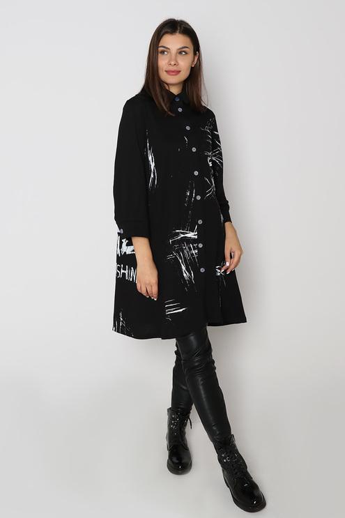 """Платье """"Гранж"""", черный"""