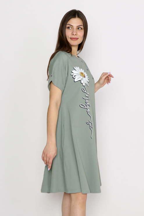 """Платье """"Желание"""", хаки"""