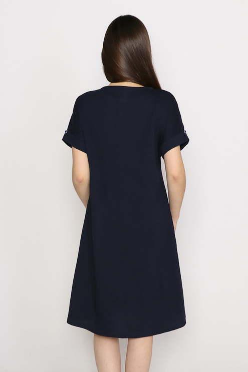 """Платье """"Желание"""", темно-синий"""