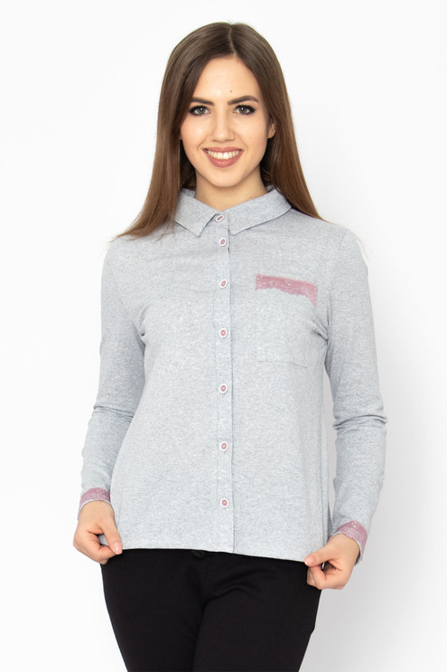 """Рубашка """"Шарм"""" купить по цене 415 руб. в интернет-магазине Марго в Иваново"""